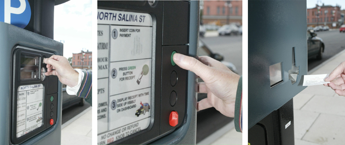 Parking Pay Station 1-2-3